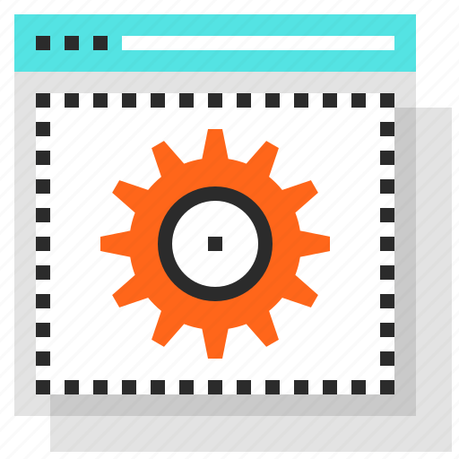 cogwheel, design, development, options, settings, web, website icon