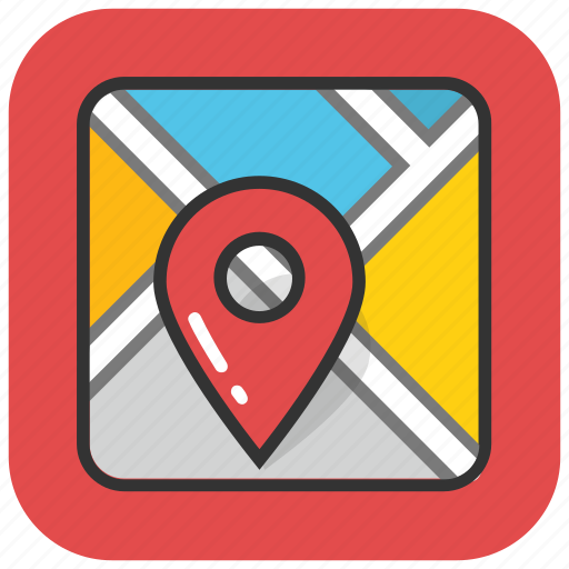 location marker, location pointer, map location, map locator, map pin icon