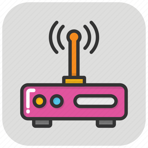 Internet device, internet modem, modem, router, wlan icon - Download on Iconfinder