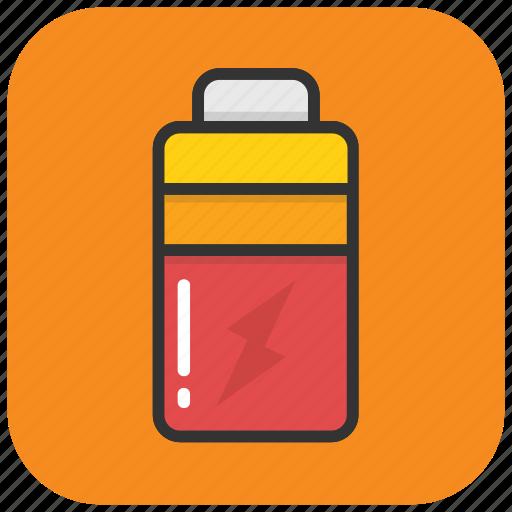 battery, mobile battery, mobile charge, mobile charging, thunder icon