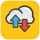 cloud computing, cloud arrows, cloud stock, icloud, data storage