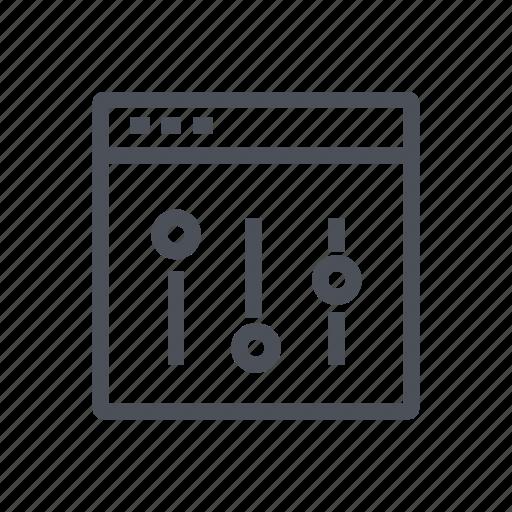 admin, control, options, panel, settings icon