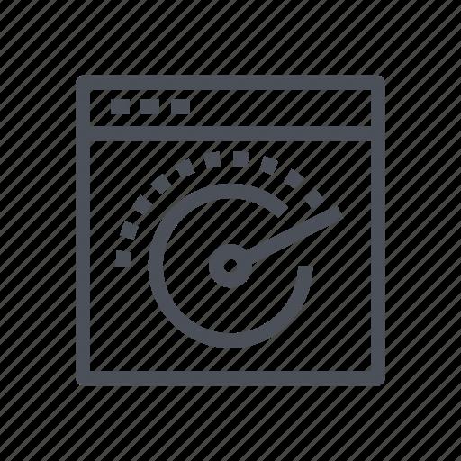 dashboard, performance, speedometer, speedtest icon