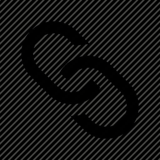chain link, hyperlink, link, linked website, web link icon