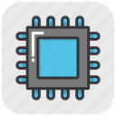 computer chip, memory chip, microprocessor, motherboard, processor chip icon