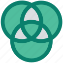 circles, creative, design, graphic, screener, tool icon