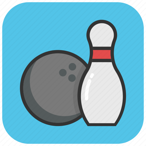 alley ball, bowling, bowling alley, game, sports icon
