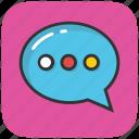 bubble, chat, chit chat, conversation, talk
