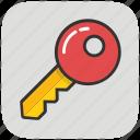 key, lock key, protection, retro key, safety