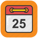 appointment, calendar, event, schedule, time table icon