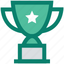 award, cup, medal, prize, star, trophy, winner icon