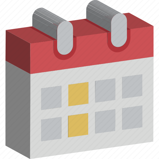 Calendar, date, day, schedule, yearbook icon - Download on Iconfinder