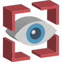 eye, visualization, web page, web visibility, website icon
