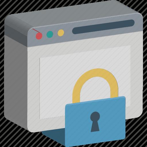 internet password, internet security, lock, web safety, web security, webpage, website icon