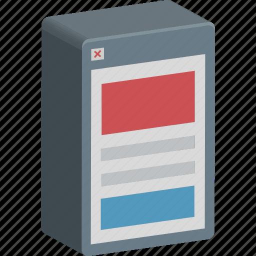 App design, app layout, mobile layout, mobile menu, mobile wireframe icon - Download on Iconfinder
