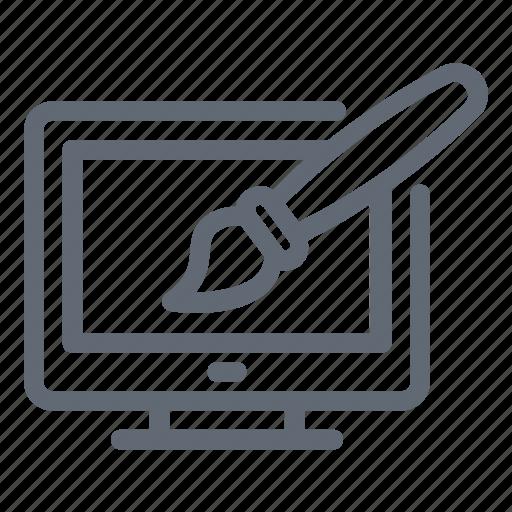 browser, web designing, web development, web page, web template icon