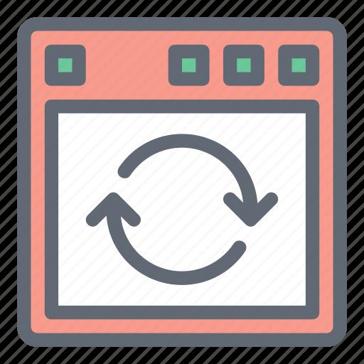 arrow, refresh, reload, sync, window icon
