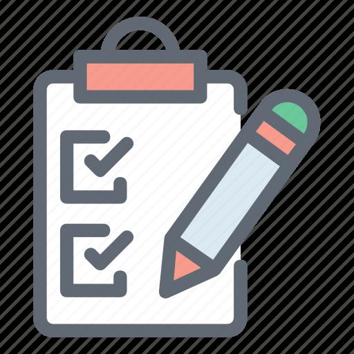 agenda, checklist, tasks, todo icon