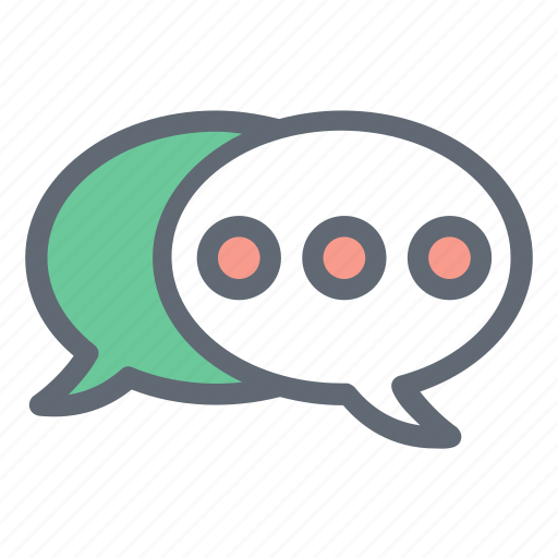 Bubble, chat, communication, message icon - Download on Iconfinder
