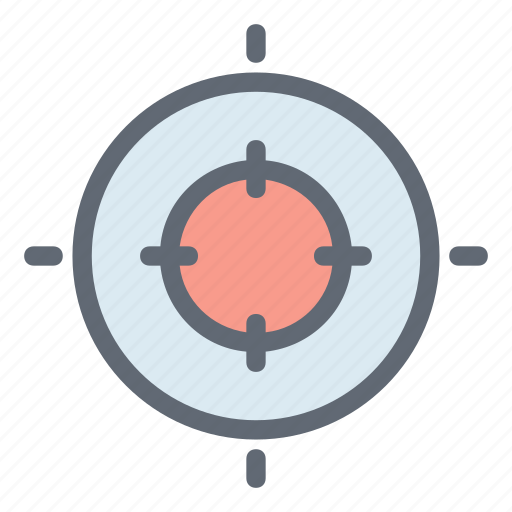 center, dart, filter, focus, target icon