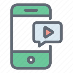 media player, mobile media, multimedia, music player, play button icon