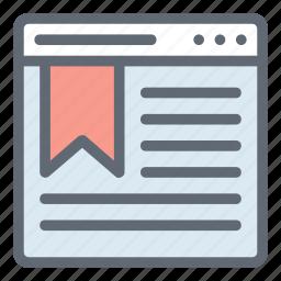 bookmark, bookmark service, bookmark website, bookmarking, webpage icon