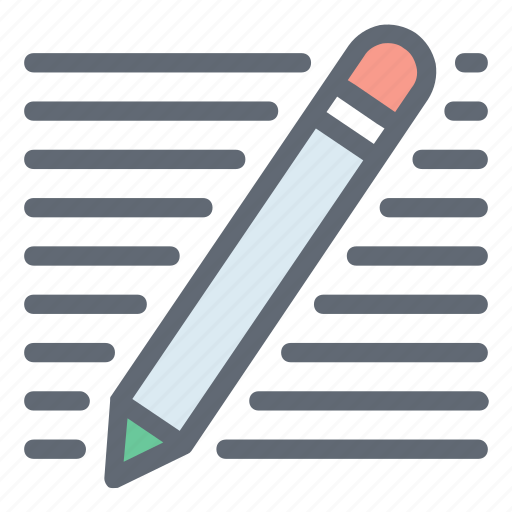 Draw, lead pencil, pencil, stationery, write icon - Download on Iconfinder