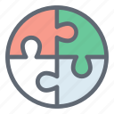 game, jigsaw, plugin, puzzle, puzzle piece icon