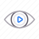 eye, media, seen, video, view