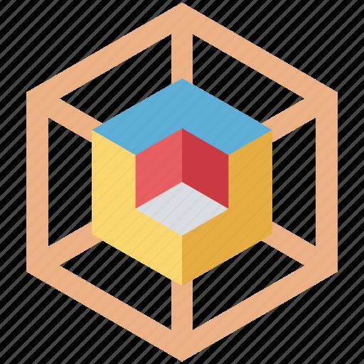 development, molecule, net icon