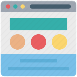 content, slider, web, web content, webpage, wireframe icon