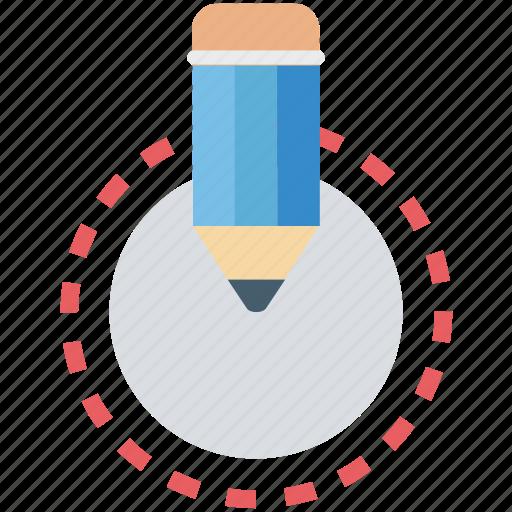 crayon, edit, lead pencil, pencil, writing icon