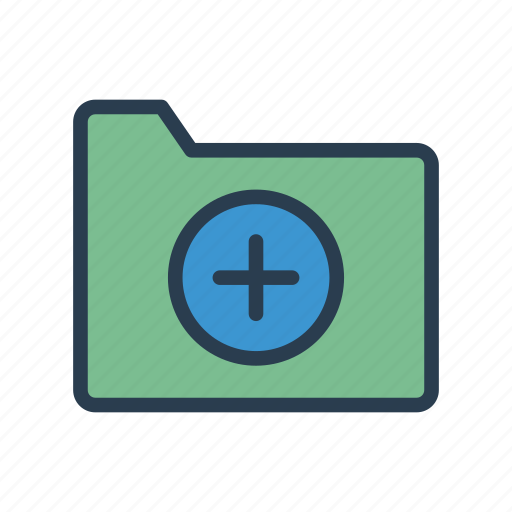 Add, document, files, folder, plus icon - Download on Iconfinder