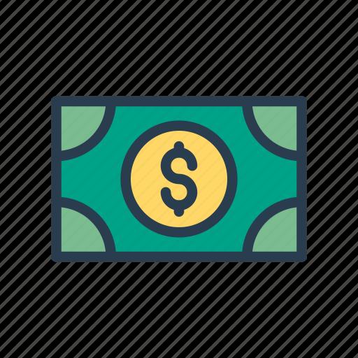 cash, dollar, earning, finance, money icon