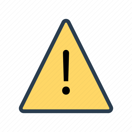 alert, error, exclamation, notice, warning icon