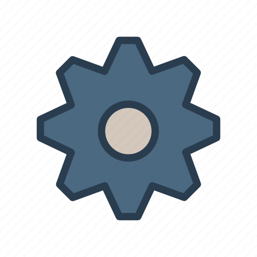 configure, gear, option, preference, setting icon