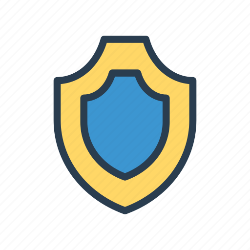 lock, protection, safety, security, shield icon