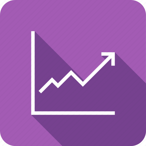 finance, graph, growth, revenue, sales, stock icon