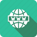 global, globe, international, internet, world, www icon