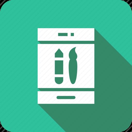 application, design, development, mobile, ui, web icon