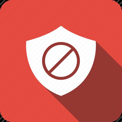 ads, block, safe, shield icon