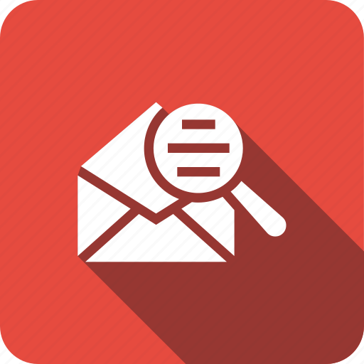 airmail, envelope, find, ico, mail, search icon