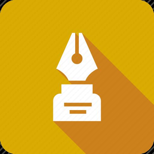 calligraphy, design, drawing, ico, pen, tool, write icon