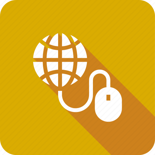click, cursor, global, internet, mouse, network, search icon