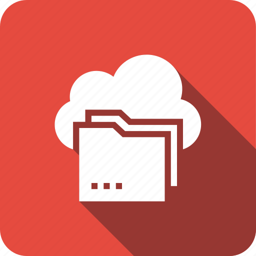 cloud, folder, shared, storage icon