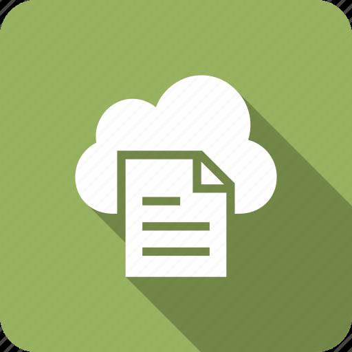 cloud, data, file, files, storage icon