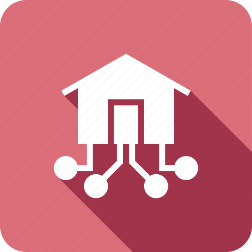 communications, connect, home, internet, local, network, share icon