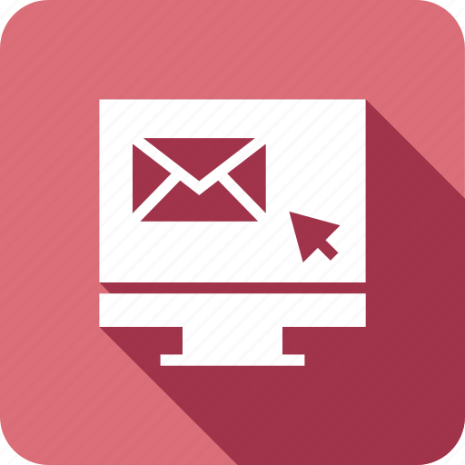 computer, email, lcd, mail, message, monitor icon