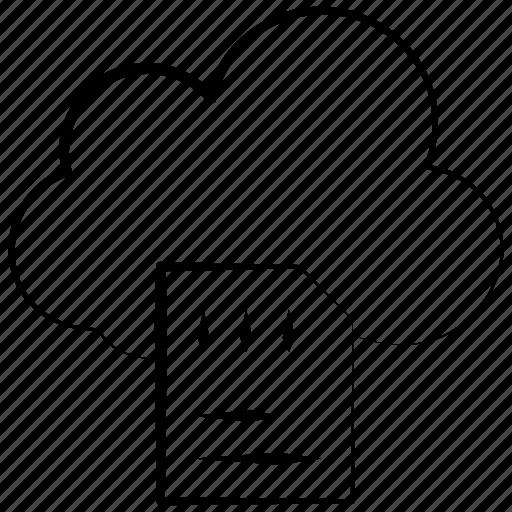 cloud, digital, memory, network, storage icon