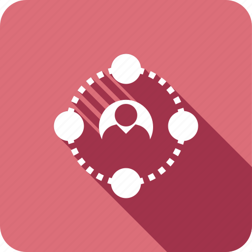 connection, network, people, user icon